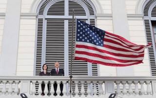 Conclusi i lavori di restauro al prestigioso palazzo del Consolato Americano di Firenze
