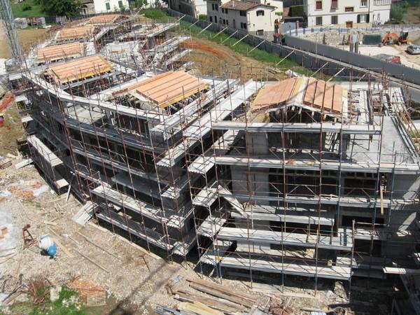 Cantiere di Ellera: Ultimata la struttura in cemento armato UMI 2